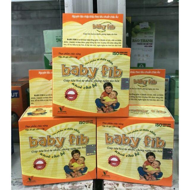 TPCN Baby Fib chống táo bón an toàn hiệu quả