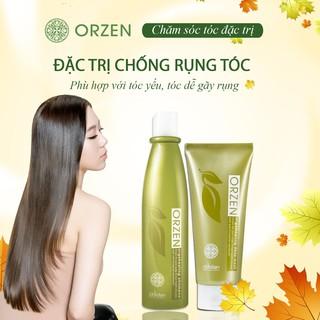 [CHÍNH HÃNG][GIÁ TỐT] Bộ dầu gội chống rụng tóc, làm dày tóc hiệu quả Orzen Hàn Quốc 320ml
