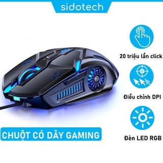 Chuột gaming máy tính có dây cho game thủ SIDOTECH YINDIAO G5 3200DPI Chế độ LED 7 màu 6 nút bấm - Hàng Chính Hãng thumbnail