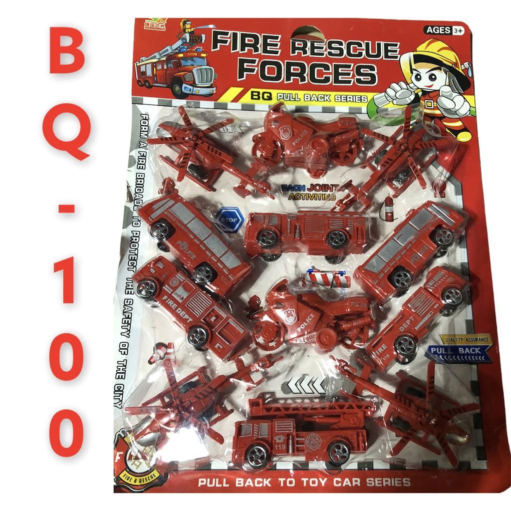 [SNND] vĩ đồ chơi xe bằng nhựa cho bé mã BQ-100