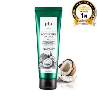 Tẩy Tế Bào Chết Toàn Thân Tinh Chất Dừa Plu Body Scrub Coconut 200g-2