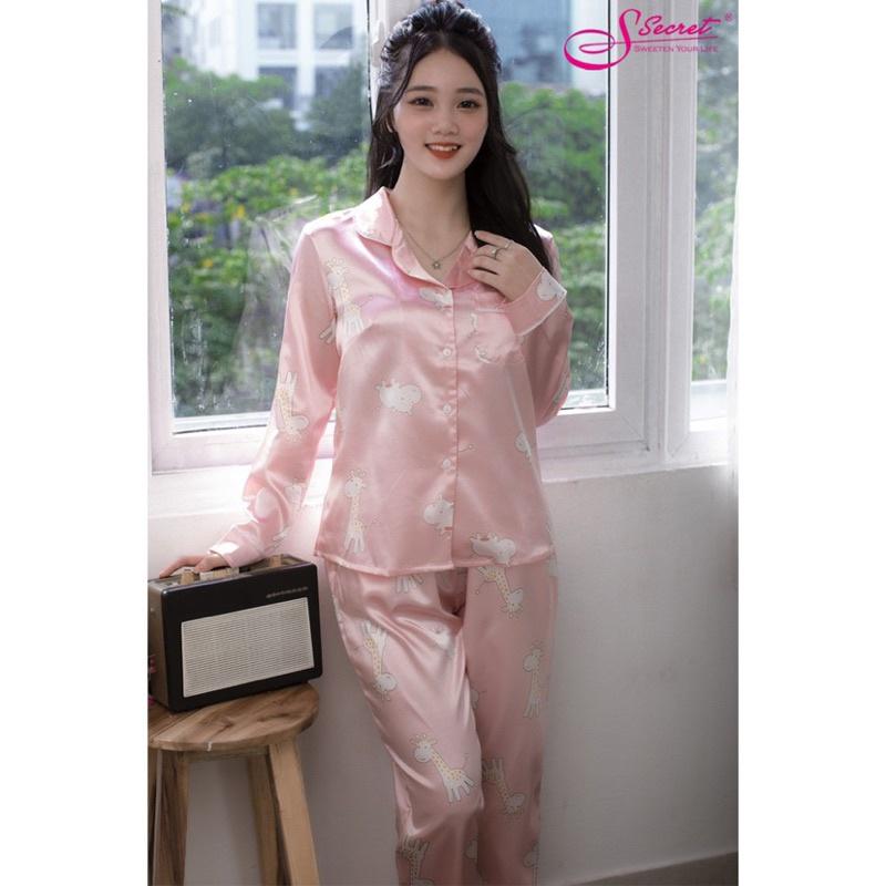 Mặc gì đẹp: Thoải mái với Bộ Pijamas lụa mặc nhà SSECRET giá siêu rẻ, vải mềm mại thoáng mát