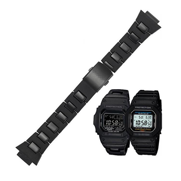 Dây Đeo Nhựa Cho Đồng Hồ G-Shock Dw-6900 / Dw9600 / Dw5600 / Gw-M5610