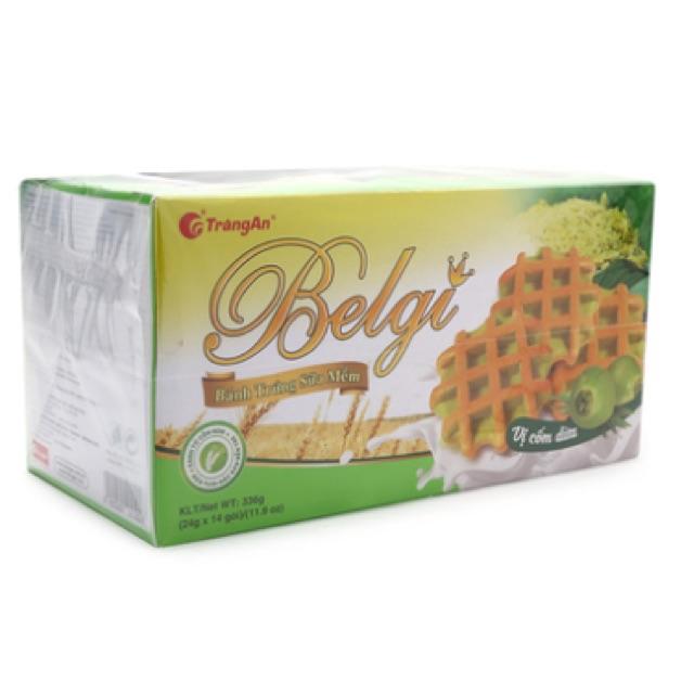 Bánh trứng sữa mềm Belgi vị cốm dừa Tràng An 336g - 2570708 , 811792422 , 322_811792422 , 65000 , Banh-trung-sua-mem-Belgi-vi-com-dua-Trang-An-336g-322_811792422 , shopee.vn , Bánh trứng sữa mềm Belgi vị cốm dừa Tràng An 336g