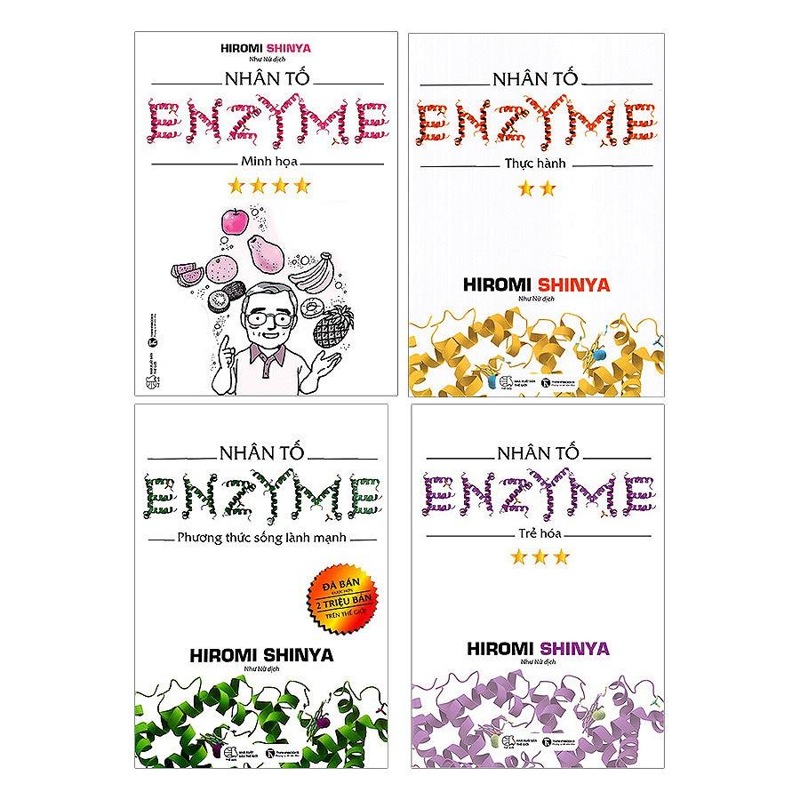 Sách - Combo Nhân Tố Enzyme (Trọn Bộ 4 Cuốn) - Tái Bản