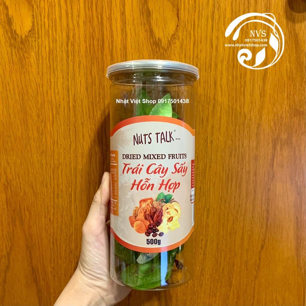 Trái Cây Sấy Hỗn Hợp Nuts Talk 500g | Shopee Việt Nam