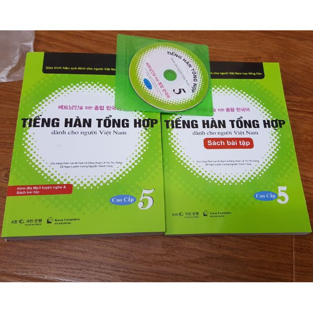 [FREESHIP99K] Sách - Tiếng hàn tổng hợp dành cho người Việt Nam Cao cấp Tập 5 kèm CD + sách bài tập - 2516956 , 1067864647 , 322_1067864647 , 190000 , FREESHIP99K-Sach-Tieng-han-tong-hop-danh-cho-nguoi-Viet-Nam-Cao-cap-Tap-5-kem-CD-sach-bai-tap-322_1067864647 , shopee.vn , [FREESHIP99K] Sách - Tiếng hàn tổng hợp dành cho người Việt Nam Cao cấp Tập 5