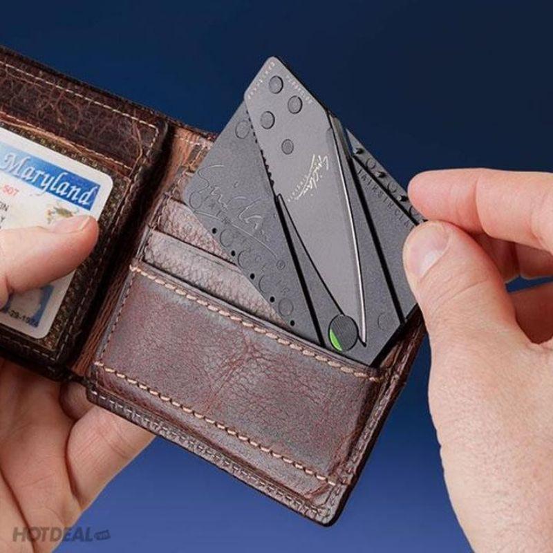 Bán Sỉ Dao Gọt Hoa Quả ATM - Miếng Thép Kĩ Thuật Xếp Hình Sinclair (Đen) (f3)