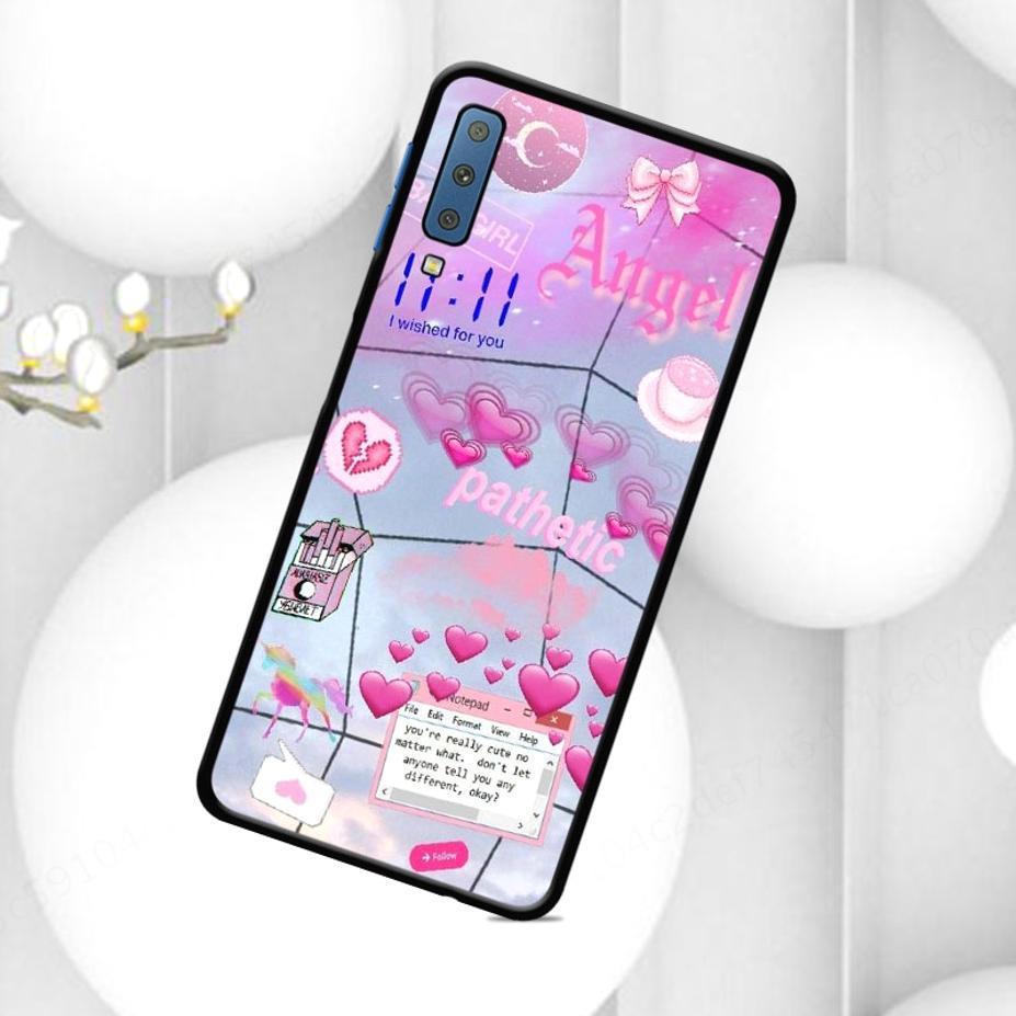 Ốp điện thoại phong cách tính yêu dễ thương cho Samsung A3 A9 Core Prime A5 A8 A7