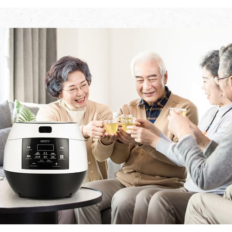 Nồi cơm điện , nồi cơm điện tách đường SEIZON PT-338 3L - giảm lượng đường trong cơm lòng nồi bằng inox 304