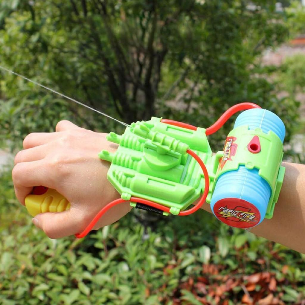 Súng nước đeo tay - Súng nước đeo tay kiểu người nhện