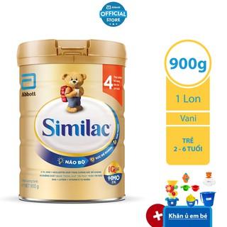 [Tặng Bộ Đồ Chơi Nhà Tắm Bất Kỳ] Sữa Bột Similac 4 900g thumbnail