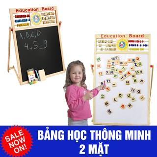 Bảng gỗ giáo dục 2 mặt