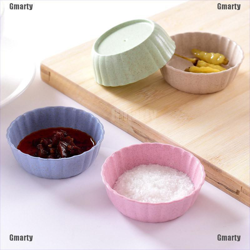 Gmarty circular shape fruit snack sauce bowl kids feed food container tableware dinner plates