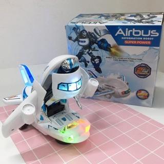 Máy bay Airbus biến hình robot