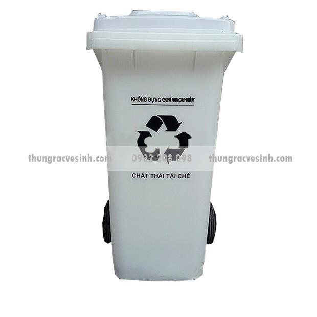 Thùng rác y tế màu trắng 120 lít - chất thải tái chế - 14386958 , 1198469175 , 322_1198469175 , 1173000 , Thung-rac-y-te-mau-trang-120-lit-chat-thai-tai-che-322_1198469175 , shopee.vn , Thùng rác y tế màu trắng 120 lít - chất thải tái chế