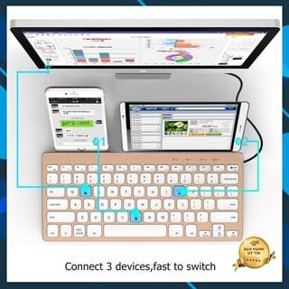 Bàn Phím Rời Máy Tính Bảng Bluetooth Bow HB191A Cao Cấp Bảo Hành Uy Tín thumbnail