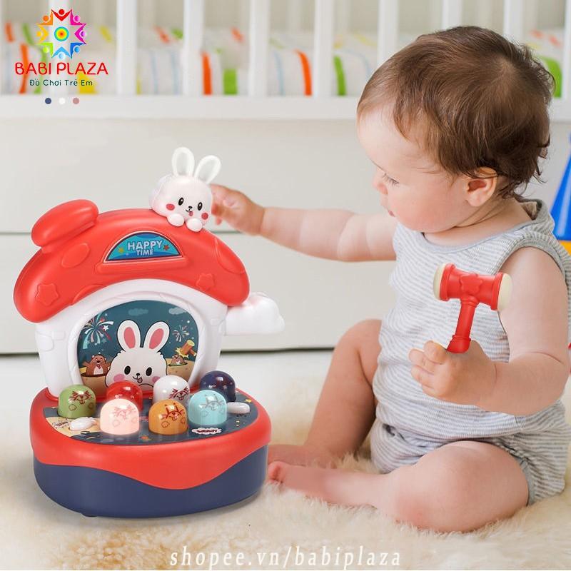 [Giáo Dục Sớm] Bộ đồ chơi ĐẬP CHUỘT phát nhạc dành cho bé 1 đến 3 tuổi