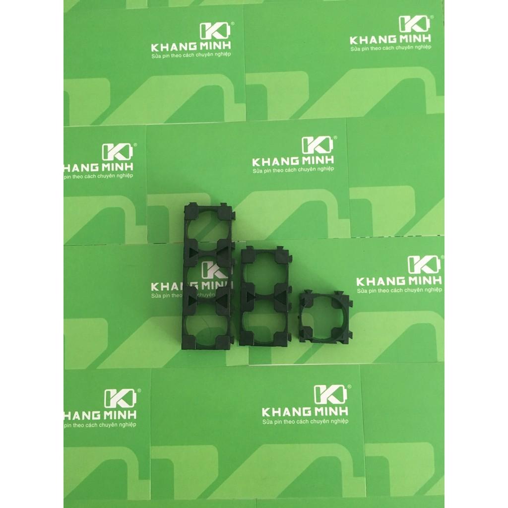 KM - Đế nhựa cố định (giữ) cell 18650, loại 1 , 2 và 3 cell. Nhằm tao pack pin kích thước lớn chắc - 2915103 , 281444514 , 322_281444514 , 20000 , KM-De-nhua-co-dinh-giu-cell-18650-loai-1-2-va-3-cell.-Nham-tao-pack-pin-kich-thuoc-lon-chac-322_281444514 , shopee.vn , KM - Đế nhựa cố định (giữ) cell 18650, loại 1 , 2 và 3 cell. Nhằm tao pack pin kích thước