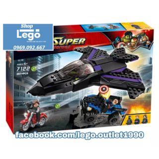 Xếp hình Lego Truy đuổi phi thuyền báo đen