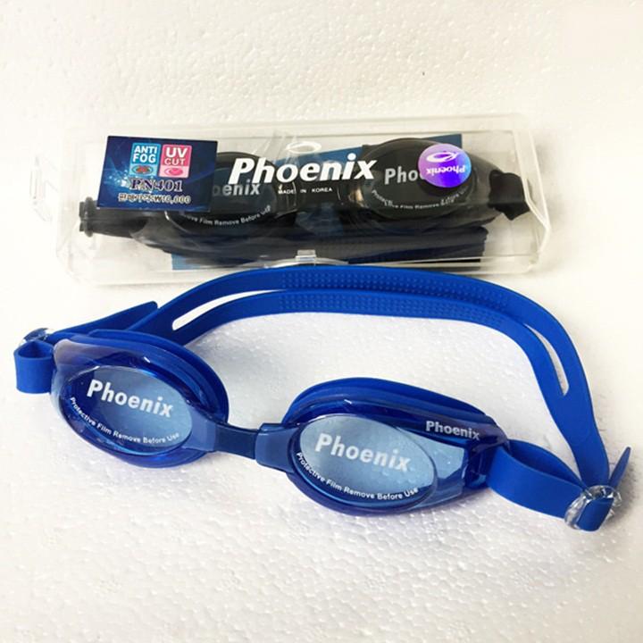 Mắt kính bơi Korea cao cấp chống tia UV chính hãng Phoenix 401