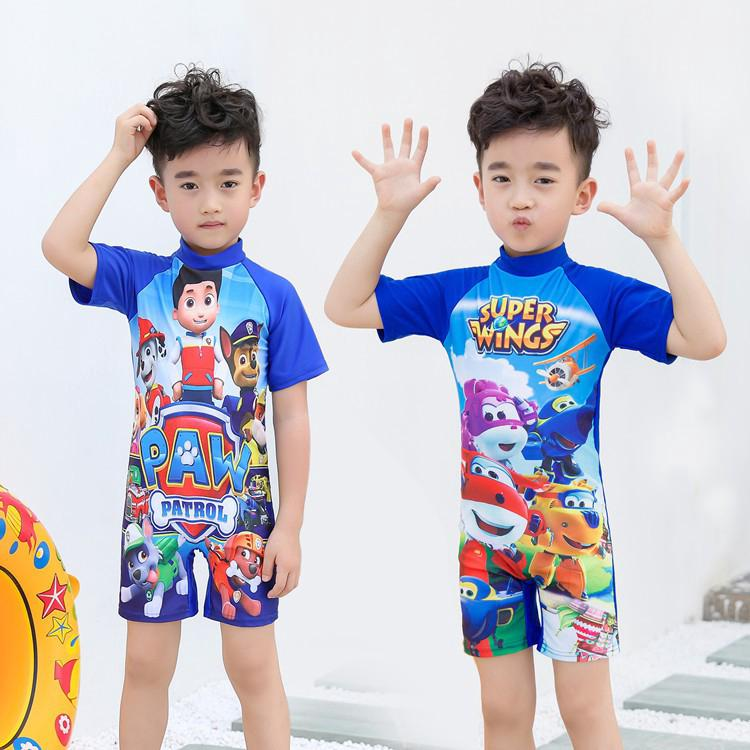 Áo bơi liền quần cho bé trai thumbnail