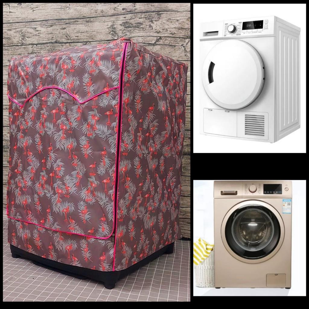 Áo trùm máy giặt cửa ngang 7kg - 10kg vải dù bạt chống thấm, chống nắng  siêu bền giá cạnh tranh