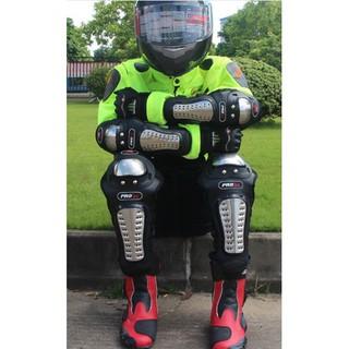 Giáp Bảo Hộ đi xe máy Inox Probiker