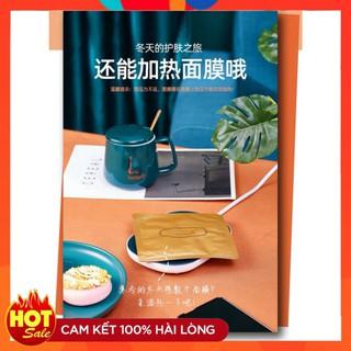 Đế điện hâm nóng đồ uống thông minh , máy làm nóng mini đa năng tiện dụng cho văn phòng