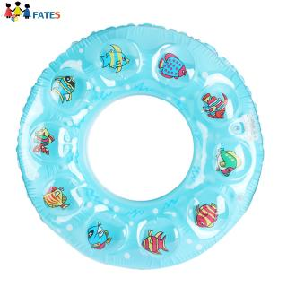 Inflatable Swimming Rings Printing Swim Circle Floating Swimming Laps Summer Pool Toy for Kids