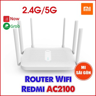 Yêu ThíchBộ phát Wifi Router Wifi Redmi AC2100 ( 6 anten ) TRẮNG