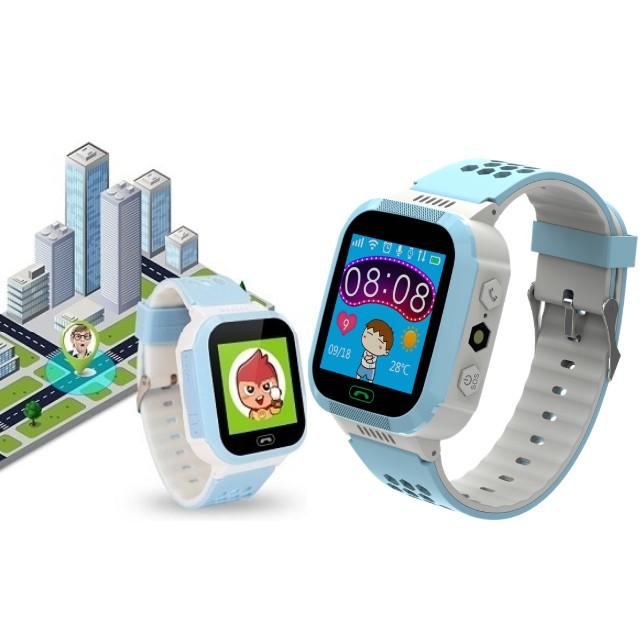 Đồng hồ thông minh định vị trẻ em Y7 - Gắn SIM gọi điện, màn hình cảm ứng - Kidwatch