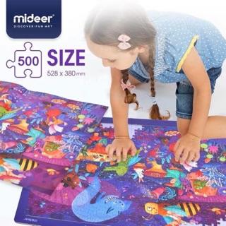 Puzzle Ghép hình Mideer 500pcs – Lễ hội hoá trang