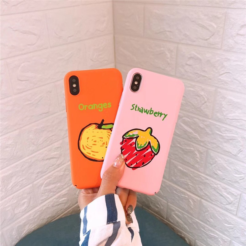 Ốp Iphone Hoa Quả Độc Đáo Sắc Màu ( ốp cứng )