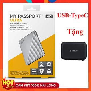 [Mã ELMSBC giảm 8% đơn 300K] Ổ cứng di động Western Mypasport Ultra 4TB / 2TB / 1TB Chân cắm USB + USB TypeC