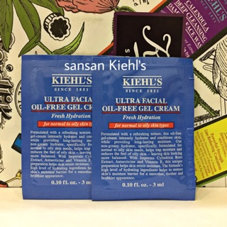 Kem dưỡng ẩm da dầu và mụn Kiehl s Ultra Facial Oil-Free Gel-Cream Sample thumbnail
