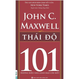 Sách - 101 những điều nhà lãnh đạo cần biết - Thái độ (Bộ 8 cuốn lẻ tùy chọn)