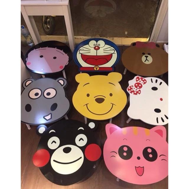 Bàn gấp gọn siêu cute nhân vật hoạt hình - 3169838 , 456981330 , 322_456981330 , 220000 , Ban-gap-gon-sieu-cute-nhan-vat-hoat-hinh-322_456981330 , shopee.vn , Bàn gấp gọn siêu cute nhân vật hoạt hình