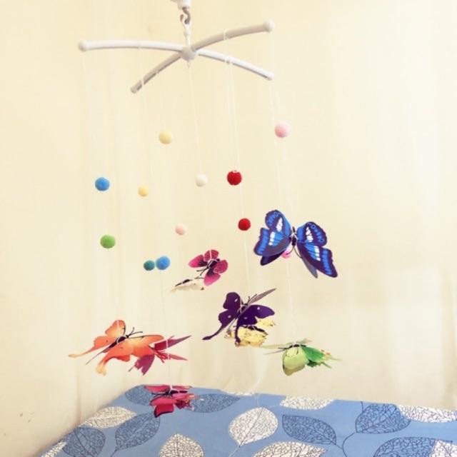 Bộ treo nôi - Bộ chuyển động bướm lượn Montessori ( bao gồm thanh chữ X )