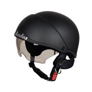 Mũ bảo hiểm nửa đầu Andes có kính âm 139 đi xe máy cho nam và nữ