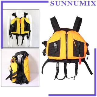 [SUNNIMIX] Life Jackets Adult Ski Swimming Boating Life Vest