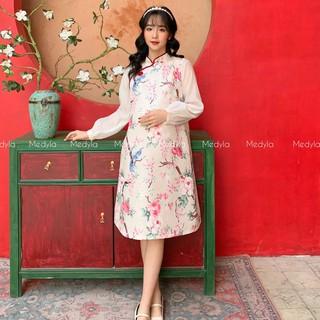 MEDYLA - Váy bầu xinh cách tân cho mẹ bầu tự tin diện tết - VS565 thumbnail