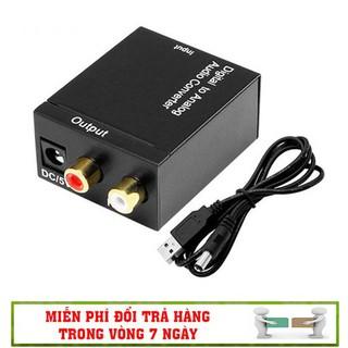 [Siêu rẻ] Bộ Chuyển Âm Thanh TV 4K Quang Optical Sang Audio AV Ra Amply Và Cáp USB - CD4K
