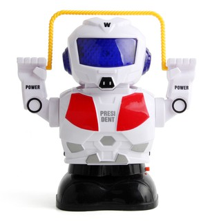 Electronic Skipping Intelligent Robot Children Music Lights Toys Music Child XQIU