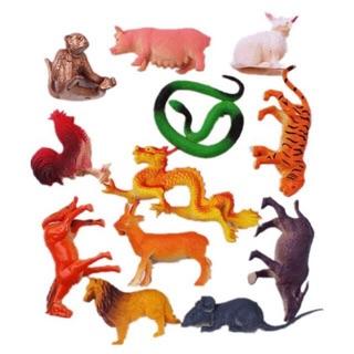 Bộ đồ chơi 12 con giáp