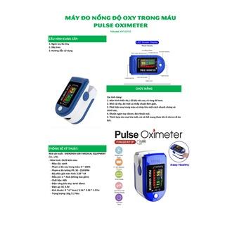 COMBO 10 Máy Đo Nồng Độ Oxy Trong Máu Và Nhịp Tim SP02, Kẹp Ngón Tay, Có Màn Hình Hiển Thị thumbnail