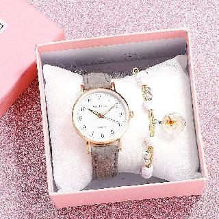 Đồng hồ nữ thời trang Mstianq ms09 dây da mềm êm tay, mặt số giờ cực đẹp