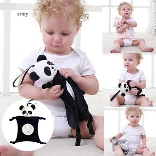 ♞Soothing Towel Baby Educational Cartoon Panda Rabbit Elephant Monkey Plush Toy