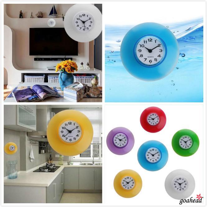 Đồng hồ treo tường chống thấm nước thời trang