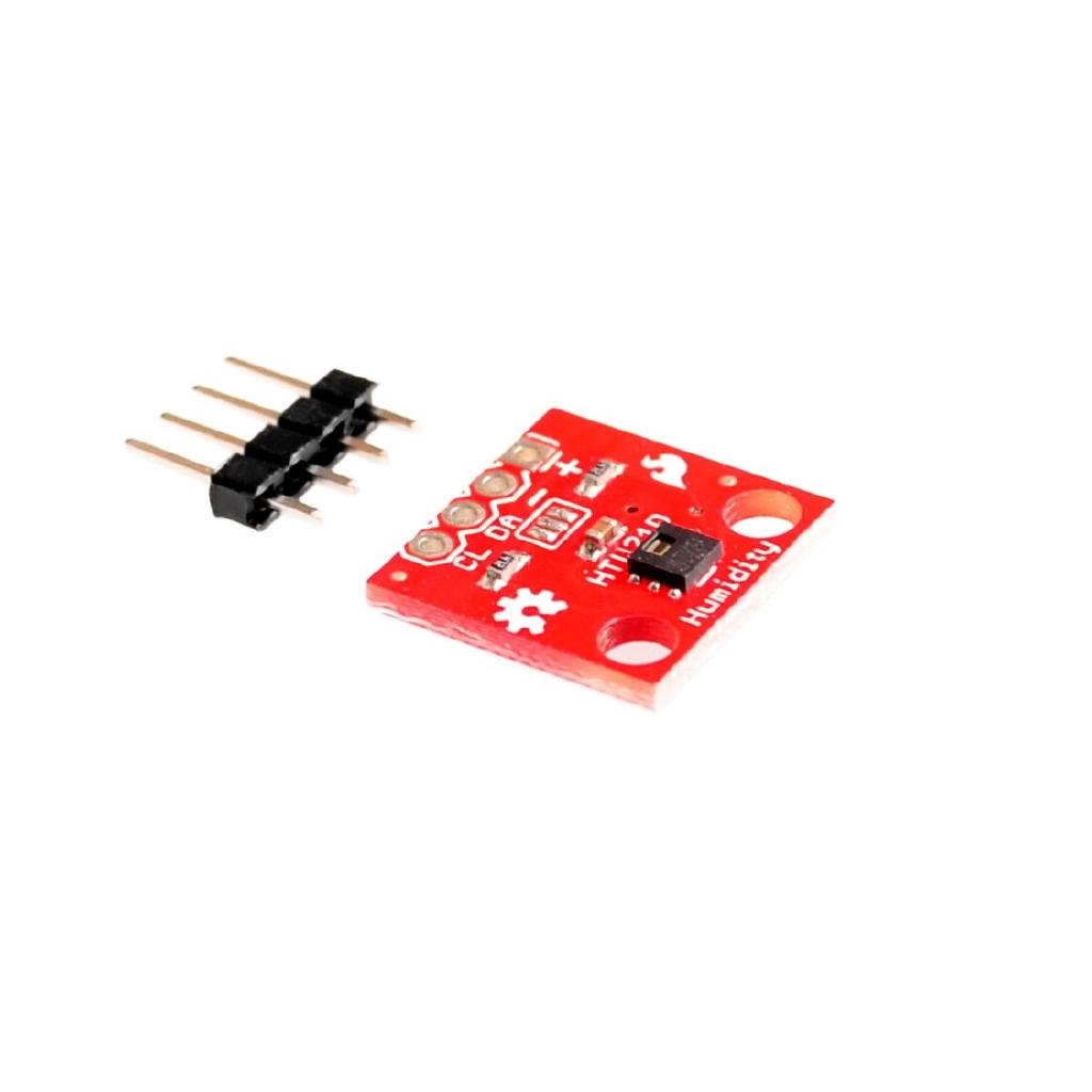 5PCS/LOT Temperature Humidity Sensor GY-213V-HTU21D I2C Replace SHT21 SI7021 HDC1080 Module